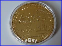 Rare 5oz solid 925 silver £5 coin ltd. Ed. 99 Tristan Da Cunha Centanry WWI gilt