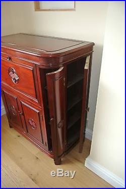 Round Corner Bar Longlife Solid Rosewood Design