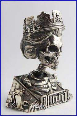 Slave Queen Statue 20+ Troy Ounces Of. 925 Solid Silver-low Coa # Original Sbss