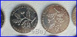 SOLID STERLING SILVER NATIONAL TRUST COIN BULLION ROYAL MINT LONDON 1976 (x26)