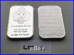 Scottsdale 1 Oz X 10.999 Solid Silver Bars Lot 1
