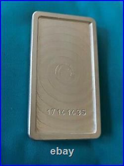 Scottsdale Solid Silver Ingot 10 Ounce 999.0