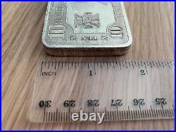 Scpm Native American Chief Solid. 999 Fine Silver Bullion Bar Ten Troy Ounces