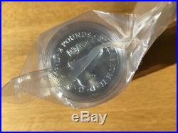 Sealed roll of 20 x 1oz 2018 Landmarks of Britain Trafalgar Square silver coins