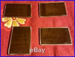 Set 4 lingotti argento 925/1000 Lot 4 solid sterling silver bars hallmarked
