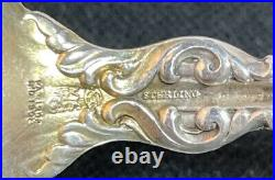 Set Of 8 Whiting Lily Sterling Silver Bullion Spoons No Monograms 5 Exc Cond