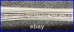 Set of 12 Tiffany Richelieu Sterling Silver Bullion / Chocolate Spoons 4 7/8