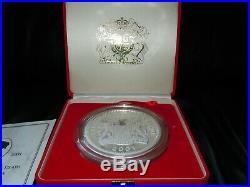 Sierra Leone 2001, Queen Victoria 3kg Massive SOLID Silver Coin 3000g not scrap