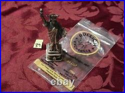 Silver 925 solid Statue of Liberty 6oz figure art paperweight Bullion Exchanges