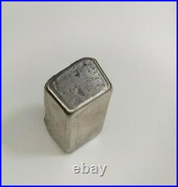 Solid. 925 Sterling Silver Custom Hand Poured Bar 183 Grams unfinished bar