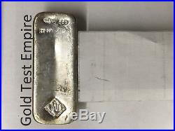 Solid Silver 100 Troy Ounce oz One Hundred Real Pure. 999 Fine Bullion Bar #3
