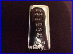 Solid Silver 250 Gram Ingot