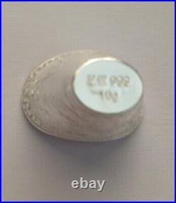 Solid Silver. 999 Fine Silver Bullion Ingot Lot x 10