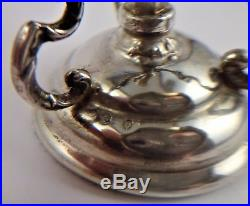 Solid Silver Antique Spanish Pocket Watch Stand