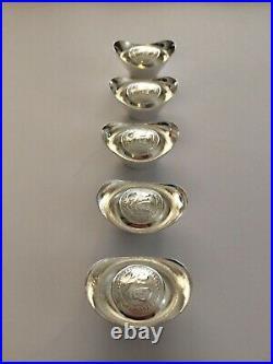 Solid Silver Bullion Ingots
