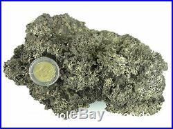 Solid Silver Genuine Silber-Nugget from Canada 800 Grams! Covered Coin 143