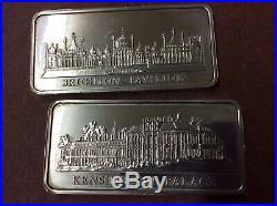 Solid Silver Ingots 12x 1oz Bars