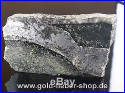 Solid Silver Reiche Level Crystals on Matrix, Nugget Canada 114 Gram 100
