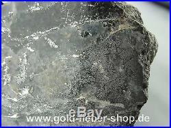 Solid Silver Reiche Level Crystals on Matrix, Nugget Canada 230 Gram 99