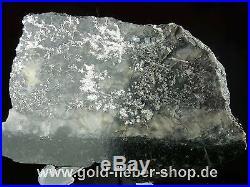 Solid Silver Reiche Level Crystals on Matrix, Nugget Canada 260 Gram 98