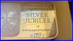 Solid silver bar