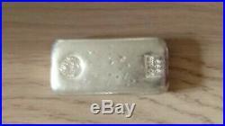 Solid silver bullion bar 10oz Perth Mint/99.999 Purity