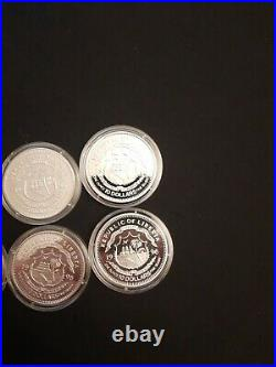 Star Trek The Next Generation Solid Silver Proof 6 Coin Set Pobjoy Mint People