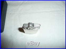 Superb Vintage Hallmarked Solid Silver RONSON, cigarette lighter in Original box
