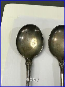 TIFFANY ENGLISH KING sterling silver Gumbo Soup Bullion Soup 6.5 NO MONO