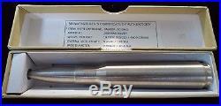 Ten Ounce. 999 Silver. 50 Caliber Bullet. 10 Oz Pure Solid Bar