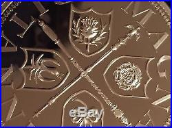 The Boudica 5oz Solid. 999 Fine Silver Coin Medal Magnae Britannia Ltd Edition