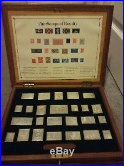 The Collection of Solid Silver Stamps of Royalty