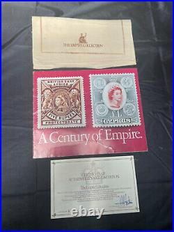 The Empire Collection Gold Plated Solid Silver Ingot Stamp Collection