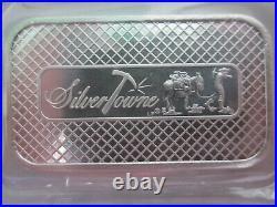 Twenty New SilverTowne 1oz Solid Silver Bullion Bars 999 Sealed x Atkinsons