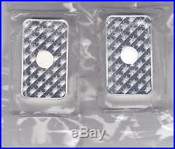 Two Five Ounce Solid Silver Bars Sunshine Minting