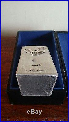 Umicore 5 Kilo 999 Solid Silver Ingot Bar