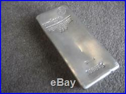 Umicore 5kg 999.0 Solid Silver Bullion Bar