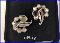 Vintage Mikimoto Pearl And Solid Silver Screw Back Earrings priced To Sell