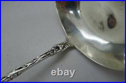 Whiting Lily Rare Sterling Silver Bullion Ladle! Impossible To Find! Must See