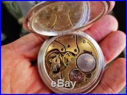 ZENITH Chronomètre Grand Prix (solid silver) antique/vintage Swiss pocket watch
